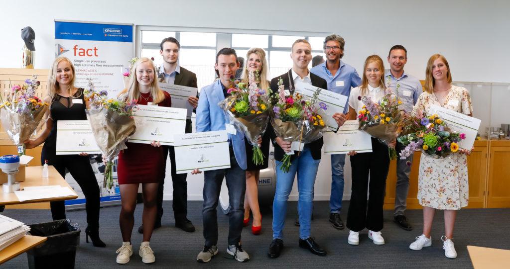 winnaars nextech scholarschips 2020